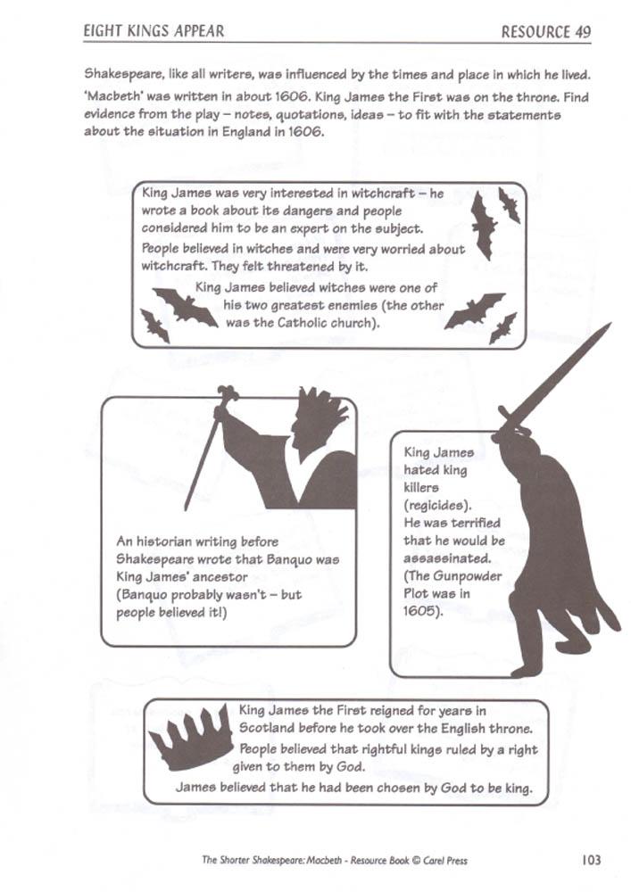 Macbeth Teachers' Resource Book